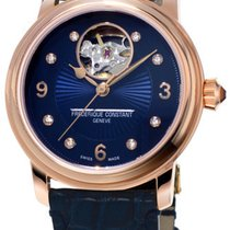 Frederique Constant Ladies Automatic Heart Beat Steel Blue United States of America, New York, Brooklyn
