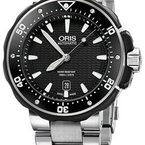 Oris ProDiver Date Titanium 49mm Black United States of America, New York, Airmont