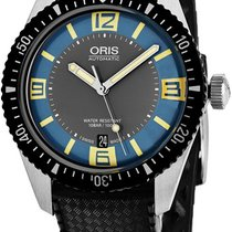 Oris Divers Sixty Five new Automatic Watch with original box 73377074065LS18