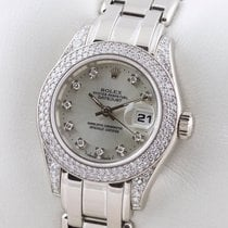 勞力士 LADY PEARLMASTER DATEJUST MASTERPIECE GOLD DIAMANT DIAMOND