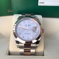 Rolex Datejust 41 Rose/Steel DiamondLC100