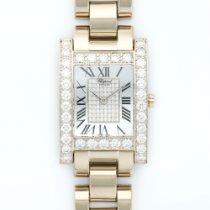 Chopard White Gold H-Watch XL Diamond Watch
