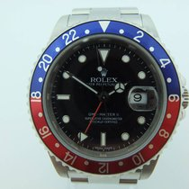 Rolex GMT-Master II Stick Dial Z Series Pepsi 2007 Full Set