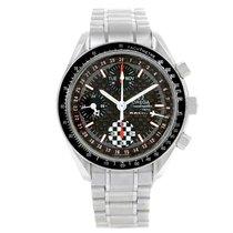 Omega Speedmaster Schumacher Day Date Watch 3529.50.00 Box Papers