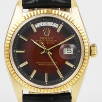 Rolex Oyster Perpetual Day-Date With Stunning Red 'Vignette' Dial