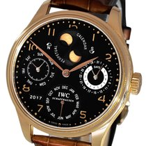 IWC IW502119 Red gold 2007 Portuguese Perpetual Calendar 44.2mm pre-owned