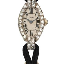 Cartier /european Watch & Clock Co., Inc. | A Lady's White And...