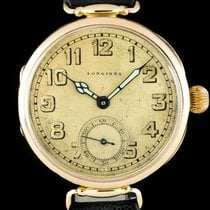 Longines 38mm Manual winding 1915 pre-owned Champagne