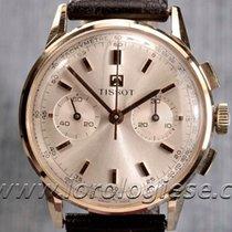 Tissot – Vintage 1960 18kt. Pink Gold Chronograph – Cal....