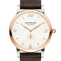 Montblanc 107309 Gold/Steel 2020 Star Classique 39mm new