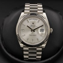 Rolex Day Date 40 228239 White Gold