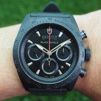 Tudor Chronograph Automatik neu Fastrider Black Shield Schwarz
