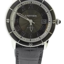Cartier Ronde Croisière de Cartier Steel 42mm Grey Roman numerals United States of America, New York, New York