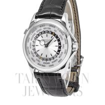 Patek Philippe World Time White gold 39.5mm Silver Arabic numerals United States of America, New York, Hartsdale