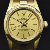 Rolex Oyster Perpetual Oro amarillo 26mm Oro Sin cifras España, Barcelona