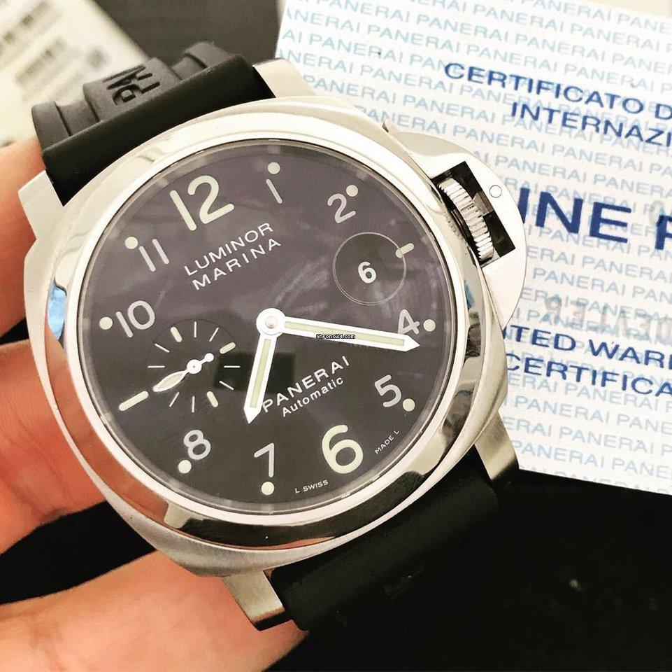 ee2fc4663d3 Panerai Luminor Marina Automatic - Todos os preços de relógios Panerai  Luminor Marina Automatic na Chrono24
