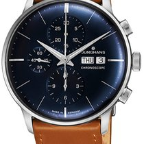 Junghans Automatic new Meister Chronoscope Blue
