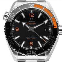 Omega Seamaster Planet Ocean Сталь 43.5mm Чёрный Aрабские