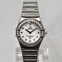 Omega Constellation Quartz Acero 22.5mm Madreperla Sin cifras