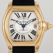 Cartier Roadster Yellow gold 37mm Silver