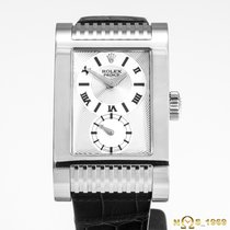 Rolex Cellini Prince White gold 27mm Silver Roman numerals