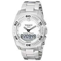 Tissot Racing-Touch Stahl 43mm Weiß