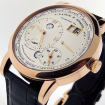 A. Lange & Söhne Lange 1 Rose gold 41.9mm Silver Roman numerals United States of America, California, Los Angeles