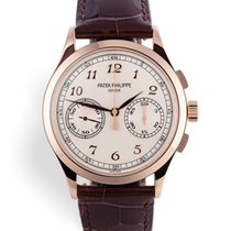 Patek Philippe Chronograph Rose gold 40.5mm Silver