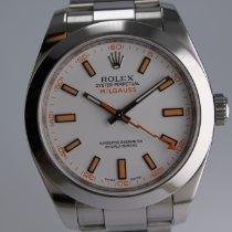 Rolex Milgauss Stahl 40mm Weiß Deutschland, Nürnberg