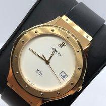 Hublot Yellow gold 39mm Quartz 1821.3 pre-owned UAE, Abu Dhabi