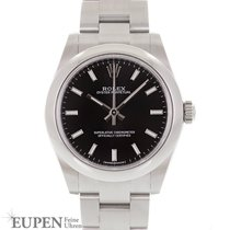 Rolex Steel Automatic Black No numerals 31mm new Oyster Perpetual 31