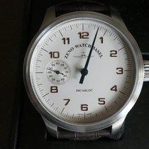 Zeno-Watch Basel OS Retro Ατσάλι 47mm Άσπρο Αραβικοί