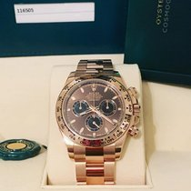 Rolex Red gold Automatic Brown No numerals 40mm new Daytona