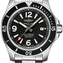 Breitling Superocean 44 Steel 44mm Black Arabic numerals United States of America, Iowa, Des Moines