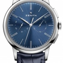 Zenith Elite Chronograph Classic Steel 42mm Blue United States of America, Florida, Sunny Isles Beach