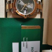 Rolex Datejust Gold/Steel 41mm Black No numerals Singapore, Singapore