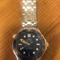 Omega Seamaster Diver 300 M Gold/Stahl 42mm Blau Schweiz, Bern