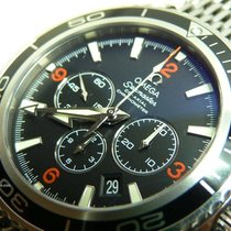 Omega Seamaster Planet Ocean Chronograph tweedehands 45,5mm Staal