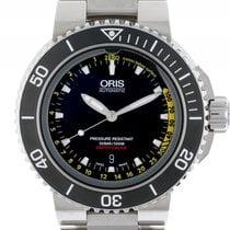 Oris Aquis Depth Gauge Stahl Automatik Armband Stahl 46mm