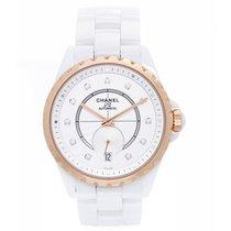 Chanel J12 White Ceramic Watch H4359