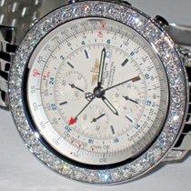 Breitling Navitimer Steel 47mm Silver No numerals