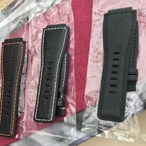 Bell & Ross For Bell & Ross 24mm Strap - BR01 BR03 Croc Style...