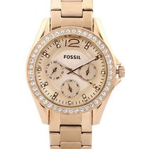 Fossil reloj mujer Fossil Riley Multifunction Rose Gold-plated...