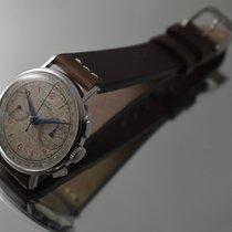 Tavannes Cyma Stainless Steel Vintage Men's Chronograph Watch...