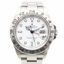 劳力士  (Rolex) Explorer II Watch Stainless Steel Automatic White...