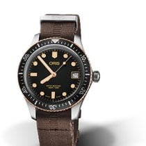 Oris Divers Sixty Five 01 733 7747 4354-07 5 17 30 Oris DIVING SIXTY-FIVE Tessuto new