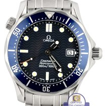 Omega Men's Omega Seamaster Professional 300M 2561.80 Blue...
