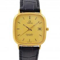Omega Seamaster Cal.1430 Gold Plated Quartz Midsize Watch