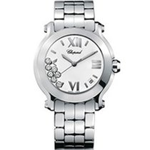 Chopard Happy Sport Steel 36mm White Roman numerals United States of America, New York, NEW YORK