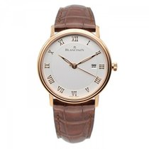 Blancpain Villeret Ultra-Slim Rose gold 40mm Roman numerals United States of America, New York, New York